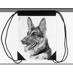 Drawstring bag german shepherd