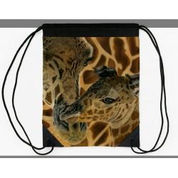 Drawstring bag Cheetah