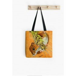Small tote bag, with playful elephants