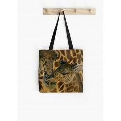 Medium tote bag, with drawing of Orangutan